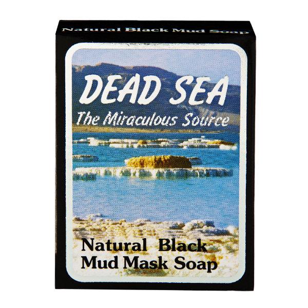 Natural Dead Sea Black Mud Mask Soap